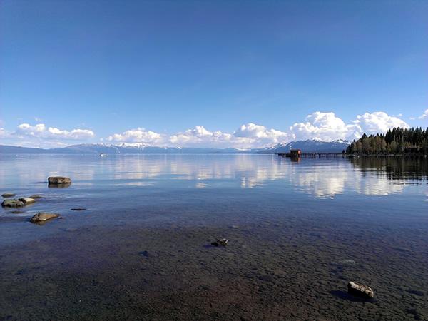 commons beach lake view